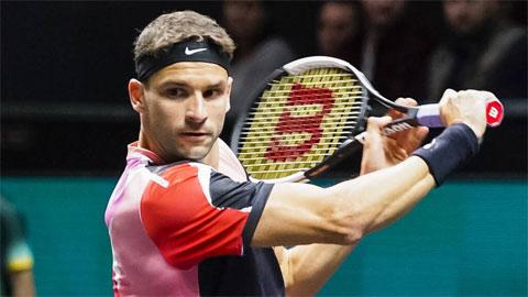 Bồ cũ Sharapova thắng trận ra quân Rotterdam Open 2020