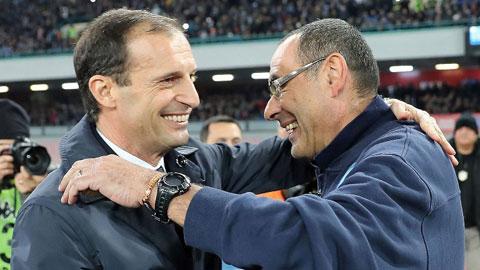Massimiliano Allegri sẽ có nhiều ý tưởng hơn Sarri nếu trở lại dẫn dắt Juve