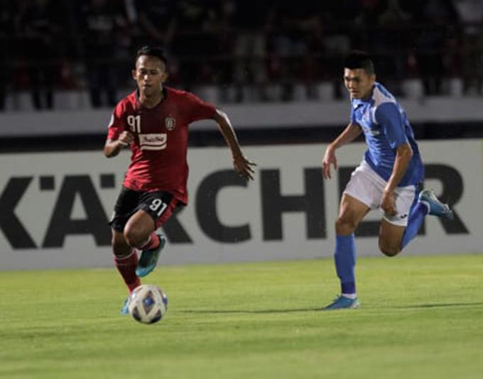 Than.QN thua đậm Bali United - Ảnh: AFC