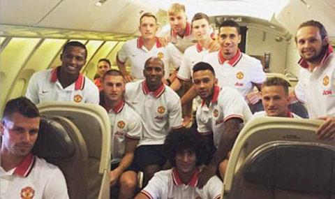 Man United từng du đấu Trung Quốc cách đây ít lâu
