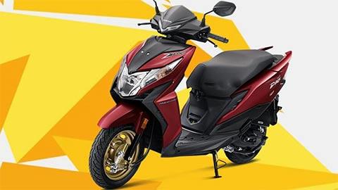 Honda Dio 2020 đẹp long lanh, giá chỉ hơn 19 triệu đồng khiến người dùng phát cuồng
