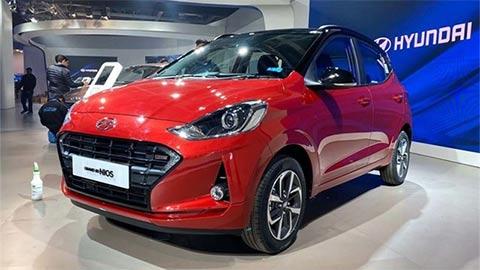 Hyundai Grand i10 Turbo đẹp mê ly ra mắt giá từ 245 triệu, đấu Kia Morning, Toyota Wigo