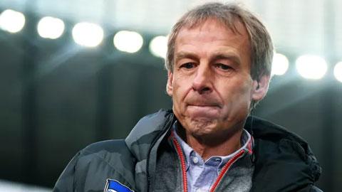 Klinsmann từ chức HLV trưởng Hertha Berlin chỉ sau 10 trận