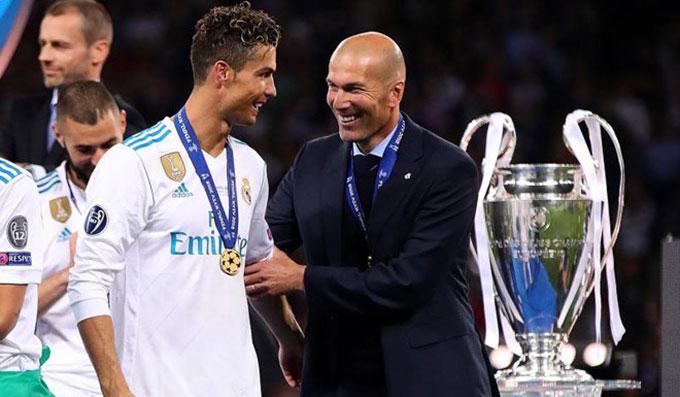 Ronaldo rất có duyên với Zidane ở Champions League