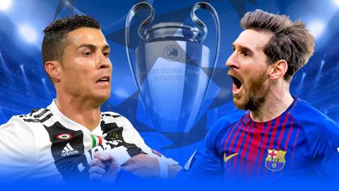 Kỷ lục vòng 1/8 Champions League: Ronaldo và Messi dẫn đầu