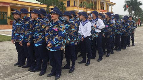 Vùng 1 Hải quân tiếp nhận 1050 chiến sĩ mới