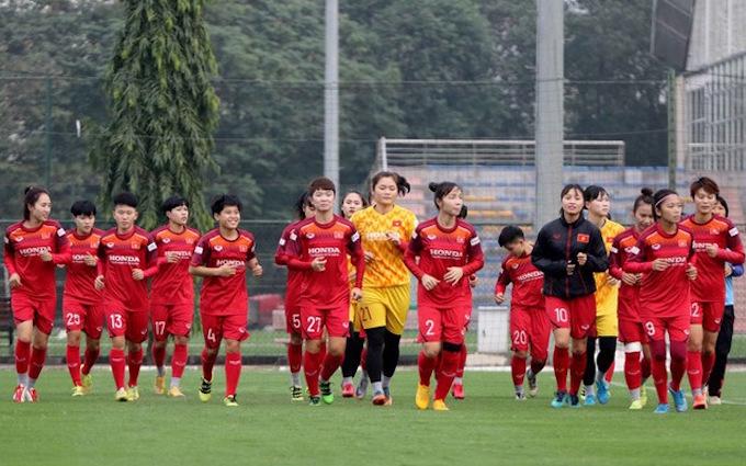 Đội nữ Việt Nam chuẩn bị quay lại tập luyện vào ngày 16/2