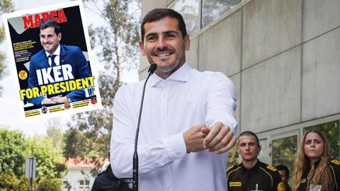 Casillas ứng cử chức chủ tịch LĐBĐ Tây Ban Nha