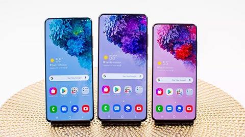 Samsung Galaxy S20, S20 Plus và S20 Ultra ra mắt với camera 'quái vật', giá từ 900 EUR