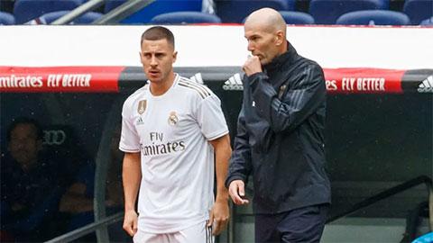Real Madrid: Zidane đau đầu vì... Hazard trở lại