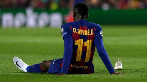 Công bố Dembele nghỉ 6 tháng sau phẫu thuật, Barca chờ xác nhận để đi chợ không phiên