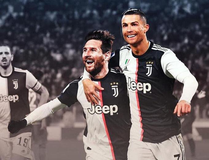 Viễn cảnh Messi sát cánh cùng Ronaldo tại Juventus thật khiến nhiều người nổi da gà