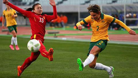 ĐT nữ Việt Nam từng thể hiện như thế nào trước Australia?