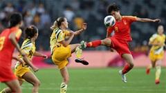Nữ Australia 1-1 Nữ Trung Quốc(Vòng loại BĐ Nữ Word cup - Châu Á)