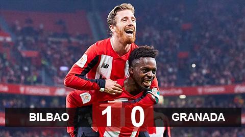 Bilbao 1-0 Granada: Muniain giúp Bilbao tiến gần tới chung kết cúp Nhà vua