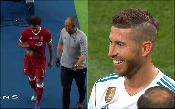 Ramos từng khiến Salah khóc hận ở chung kết Champions League
