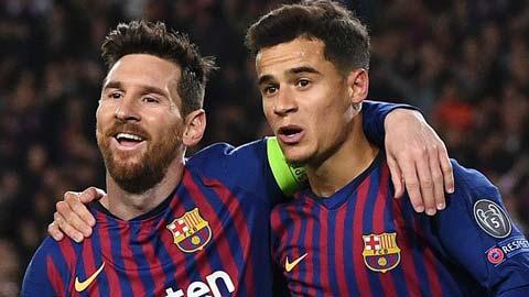 Leo Messi và Philliipe Coutinho là những cái tên được Juventus muốn chiêu mộ
