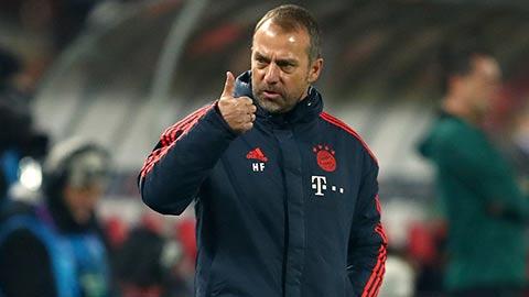 Flick đạt tỷ lệ thắng kỷ lục ở Bayern