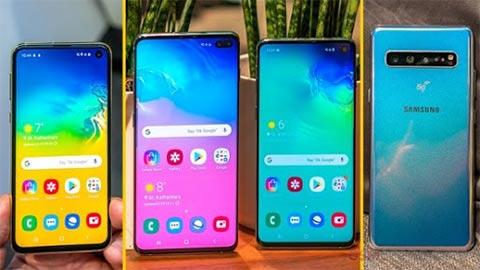 Samsung Galaxy s10, S10 Plus giảm giá kịch sàn, chào đón Galaxy S20 vừa ra mắt