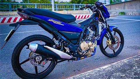 Suzuki Satria 150 độ 'cực ngầu', khiến Yamaha Exciter ganh tị