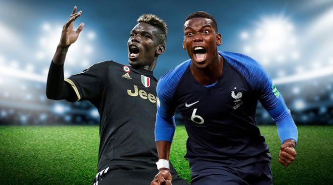 Pogba chỉ mới tỏa sáng tại Juventus và ĐT Pháp