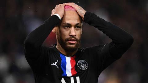 Neymar khó tham dự trận PSG vs Dortmund