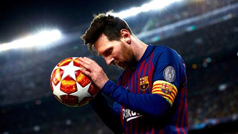 Bất chấp thành tích ghi bàn sụt giảm, Messi vẫn dẫn đầu trong cuộc đua vua phá lưới