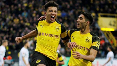 Dortmund hét mức giá tối thiểu 140 triệu euro dành cho Sancho