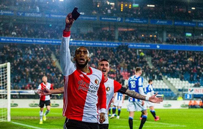 Heerenveen bị Feyenoord loại khỏi Cúp Quốc gia Hà Lan