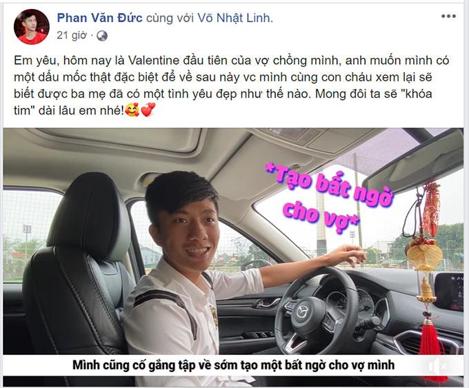 Anh chồng Phan Văn Đức lên kế hoạch gây bất ngờ cho chị vợ Nhật Linh trong ngày lễ tình nhân
