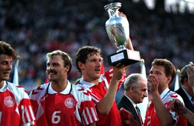 ĐT Đan Mạch vô địch Euro 1992