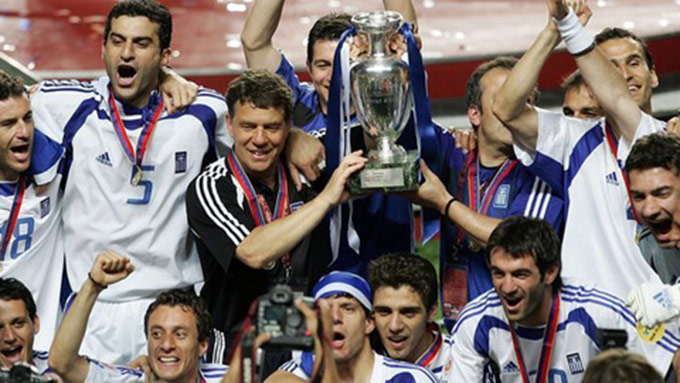 ĐT Hy Lạp vô địch Euro 2004