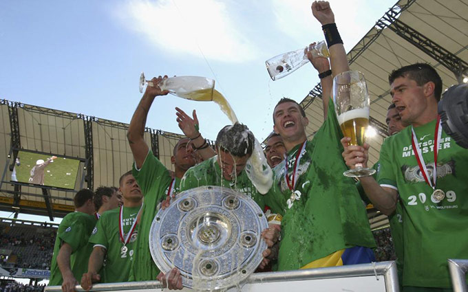 Wolfsburg vô địch Bundesliga 2008/09