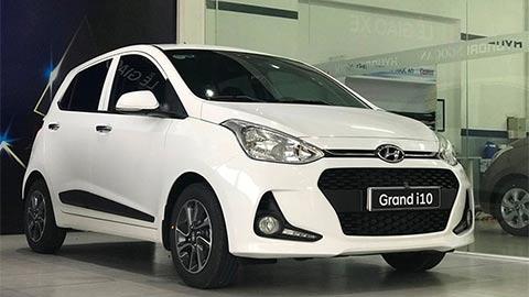 """Hyundai Grand i10 giảm giá cực sốc, khiến Kia Morning, Toyota Wigo, Honda Brio """"suy sụp"""""""