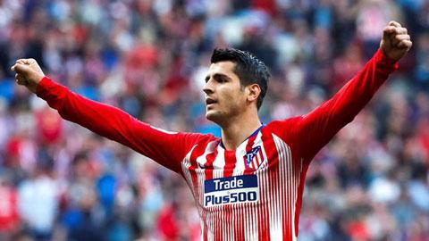 Atletico đón sát thủ trở lại trước cuộc thư hùng với Liverpool