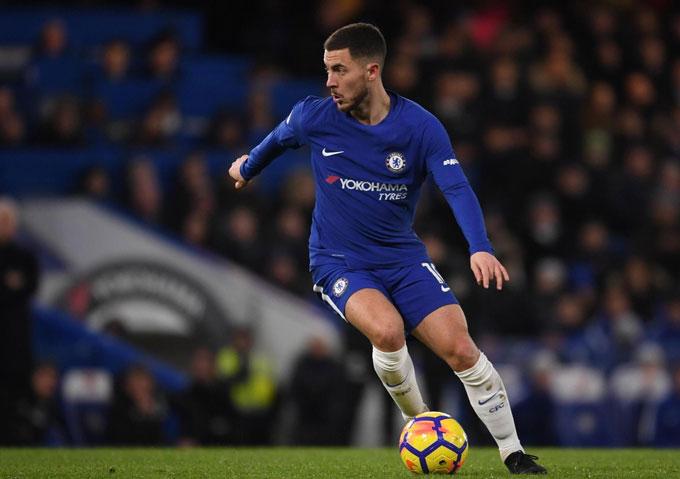Hazard cung cấp phong phú các cơ hội ăn bàn cho Chelsea