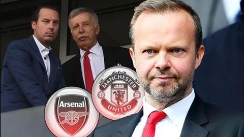 M.U là đội bóng có sẵn tiền mặt nhất thế giới, Arsenal xếp thứ 2