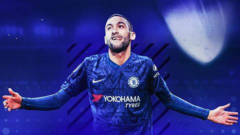 Ziyech  lọt top 10 hợp đồng đắt nhất lịch sử Chelsea