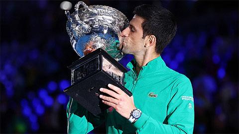 Djokovic giành 16 Grand Slam trong 10 năm gần nhất
