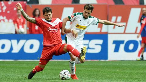 Nhận định bóng đá Duesseldorf vs M'gladbach, 00h30 ngày 16/2