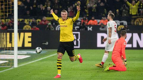 Haaland tỏa sáng với 8 bàn thắng chỉ sau 5 trận đầu khoác áo Dortmund