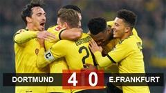 Dortmund 4-0 Eintracht Frankfurt: Song sát Sancho và Haaland tỏa sáng
