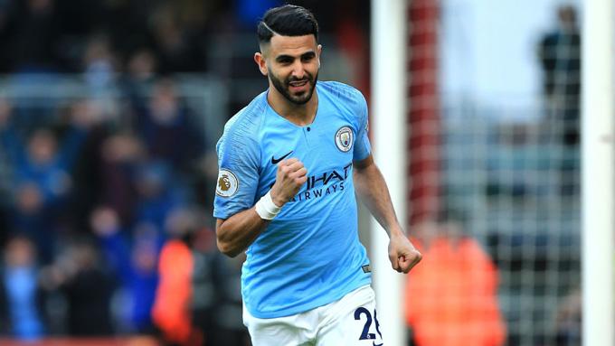 Riyad Mahrez (60 triệu bảng): Mua về từ Leicester vào mùa Hè 2018