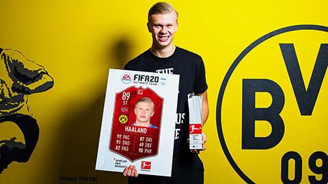 Vừa đến Dortmund, Haaland đã giành giải thưởng