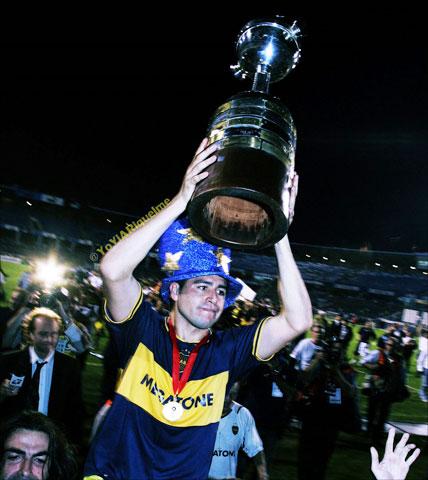Riquelme gây sốt với fan Brazil sau 3 lần cùng Boca xưng vương ở Copa Libertadores