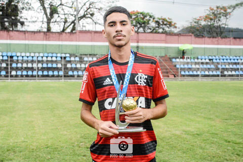 "Riquelme Sousa Silva là 1 trong 11 ""Riquelme"" ở Copinha 2020"