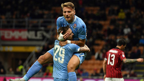 Liệu hôm nay, Immobile (trên) sẽ ghi bàn vào lưới Inter?