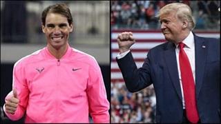 Tổng thống Donald Trump mời Nadal đến Nhà Trắng
