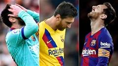 Messi đang trải qua mùa Đông tồi tệ nhất sự nghiệp