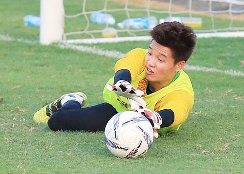 Minh Long đang thể hiện quyết tâm trở lại ở mùa giải 2020Ảnh: Phan Tùng